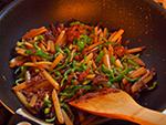 牛肉とピーマンのチンジャオロース風炒め作り方4