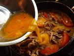 豚玉トマト丼作り方4
